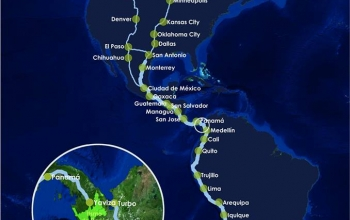 Visit the End of the Panamerican Highway